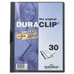 Durable DuraClip® Report Cover, Gray, Each