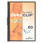 Durable DuraClip® Report Cover, Black, Each