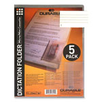 Durable Tranparent with Beige and Back Cassette Unpunched Mini Folder