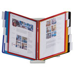 Durable InstaView Desktop Reference System, Assorted Borders