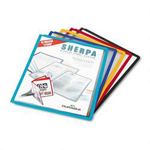 Durable Sherpa® Display Presentation System Panels, Assorted Borders, 5/Set