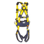 DBI/Sala Full-Body Harness, Tongue Buckles, Side/Back D-Rings, X-Large, 420lb Capacity