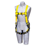 DBI/Sala Full-Body Harness, Tongue Buckles, Back D-Ring, Universal, 420lb Capacity