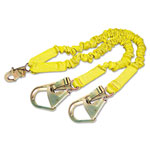 DBI/Sala ShockWave2 Shock-Absorbing Lanyard, Steel Hooks, 900lb MAF