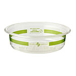 World Centric 8 oz Round Deli Containers, Ingeo, Compostable