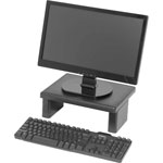 "Data Accessories Corp LCD/TFT Monitor Riser, 13"" x 10-1/2"" x 1"" to4-3/4"", 66lb Cap, BK"