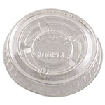 Dart Container Clear Plastic Lid For 1/2 - 1 Ounce Cups, Case of 2,500