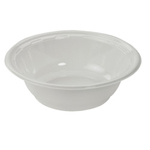 Dart Container Rigid Bowl 10 Oz China-lock Plastic White, 8/125