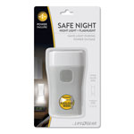 Life+Gear® Safe Night Nightlight + Flashlight, Rechargeable Lithium-Ion Battery, Gray