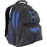 "Targus TSB215US 15.4"" Sport Notebook Carrying Backpack, Black, Blue"
