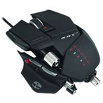 Mad Catz Cyborg R.A.T 7 Mouse - Laser Wired - Black