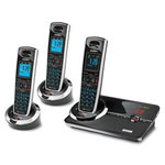 Uniden DECT3080-3 Ultra Thin DECT 6.0 Cordless Digital Answering System with 2 Extra Handsets and Charging Cradles