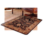 "Deflecto Chairmat, Hard Floor, Rectangular, 46""x60"""
