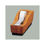 Eldon Executive Woodline II Tape Dispenser, Cherry Finish