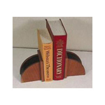 Eldon Executive Woodline II Bookends, Cherry Finish