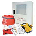 Defibtech Lifeline AED Complete Defibrillator and Accessory Package