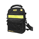 Defibtech Carrying Case, with Reflective Safety Strip, Black/Yellow