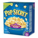 Diamond Pop Secret Microwave Popcorn, Movie Theatre Butter, 3.5 OZ Bags