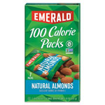 Emerald 100 Calorie Pack All Natural Almonds, 0.63oz Packs, 49/Carton