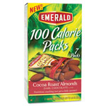 Diamond 100 Calorie Pack Dark Chocolate Cocoa Roast Almonds, .63 oz Packs, 7 Packs/Box