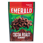 Emerald Cocoa Roasted Almonds, 5 oz Pack, 6/Carton