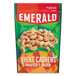 Emerald Roasted & Salted Cashew Nuts, 5 oz Pack, 6/Carton