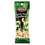 Diamond Emerald Sea Salt and Pepper Cashews, 10 OZ, Case of 12