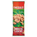 Emerald Snack Nuts, Sriracha Cashews, 1.25 oz Tube, 12/Box