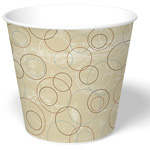 International Paper Champagne Paper Food Bucket, 170 oz.