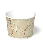 International Paper 10oz Champagne Paper Food Container