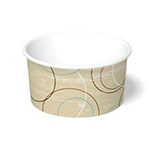 International Paper 6oz Champagne Paper Food Container