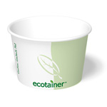 ecotainer Paper Food Container, 12 oz.