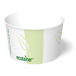 ecotainer Paper Food Container, 8 oz.