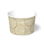 International Paper 16oz Champagne Paper Food Container
