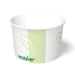 ecotainer Paper Food Container, 16 oz.