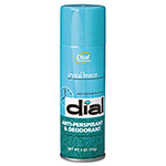 Dial Professional Scented Anti-Perspirant & Deodorant, Crystal Breeze, 4 oz. Aerosol