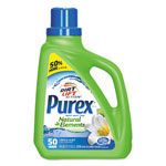 Purex Ultra Natural Elements HE Liquid Detergent, Linen & Lilies, 75oz Bottle,6/Carton