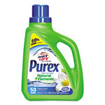 Purex Ultra Natural Elements HE Liquid Detergent, Linen & Lilies, 75 oz Bottle