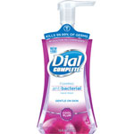 Dial Professional Antibacterial Foaming Plum Bottled Soap, 7.5 Oz