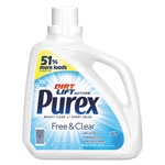 Purex Free and Clear Liquid Laundry Detergent, Unscented, 150 oz Bottle