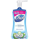 Dial Complete® Antibacterial Hand Wash, Foaming, 7.5oz, Coconut Water, Blue
