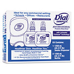 Dial Complete® Duo Soap Dispenser Kit, 7 1/4 x 3 7/8 x 11 3/4, 1250 mL Cartridge, Smoke