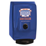 "Boraxo by Dial 2L Dispenser for Heavy Duty Hand Cleaner, Blue, 10.49""x4.98""x6.75"", 4/Carton"