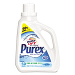 Purex Free and Clear Liquid Laundry Detergent, Unscented, 75 oz Bottle