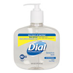 Dial Professional Antibacterial Unscented Bottled Soap, 16 Oz