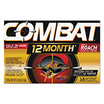 Combat Small Roach Bait, 18/Box
