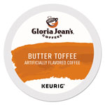 Gloria Jean's® Butter Toffee Coffee K-Cups, 96/Carton