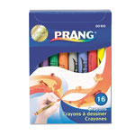 Prang Crayons Made with Soy, 16 Colors/Box