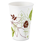 Dixie 16 oz Polycoated Paper Cold Cup, Pathways