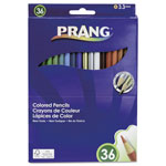 Prang Colored Woodcase Pencils, 3.3 mm, 36 Assorted Colors/Set